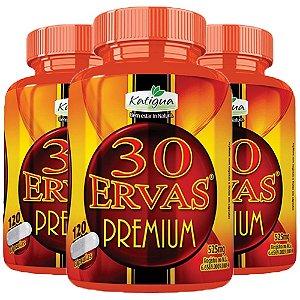Chá 30 Ervas Premium - 3 unidades de 120 cápsulas - Katigua