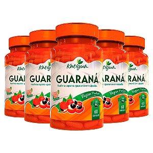 Kit Guaraná Suplemento Energizante Katigua 600 Cápsulas