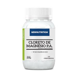 Cloreto de Magnésio P.A. - 120 Comprimidos - NewNutrition