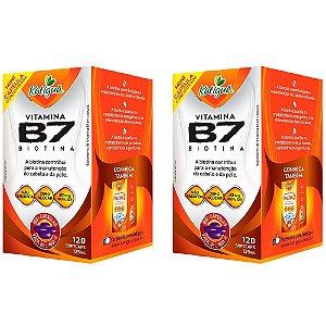 Vitamina B7 Biotina - 2 unidades de 120 Cápsulas - Katigua