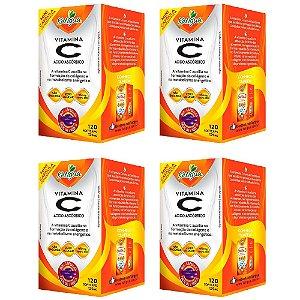 Vitamina C Ácido Ascórbico - 4 unidades de 120 Cápsulas - Katigua