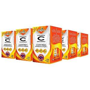 Vitamina C Ácido Ascórbico - 5 unidades de 120 Cápsulas - Katigua