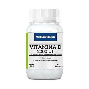 Vitamina D 2000 UI - 60 Cápsulas - NewNutrition