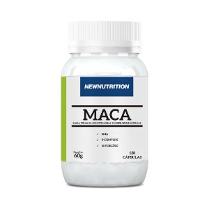 Maca Peruana Power - 120 Cápsulas - NewNutrition
