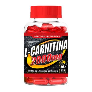L-Carnitina 2000 - 120 Cápsulas - Lauton