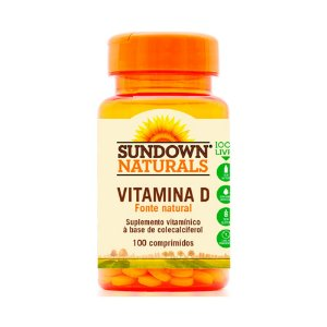 Vitamina D 400 UI - 100 Comprimidos - Sundown