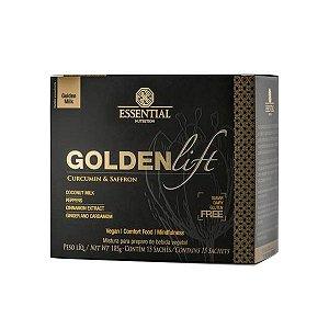 Goldenlift Cúrcuma e Açafrão - 15 Sachês de 7g - Essential