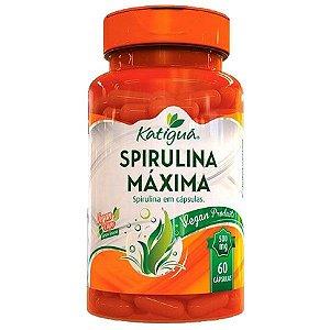 Spirulina Máxima - 60 Cápsulas - Katigua