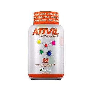 Multivitamínico Ativil - 90 Cápsulas - Fitoway