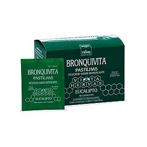 Pastilhas de Eucalipto Bronquivita - 25 envelopes - Vitalab