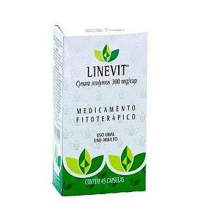 Linevit Alcachofra - 45 Cápsulas - Vitalab