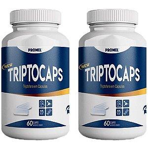 Triptocaps Triptofano - 2 unidades de 60 Cápsulas - Promel