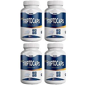 Triptocaps Triptofano - 4 unidades de 60 Cápsulas - Promel