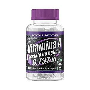 Vitamina A Acetato de Retinol - 60 Cápsulas - Lauton