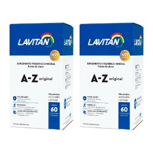 Kit Polivitamínico Lavitan A-Z Cimed 120 Comprimidos
