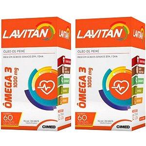 Ômega 3 Lavitan - 2 unidades de 60 Cápsulas - Cimed
