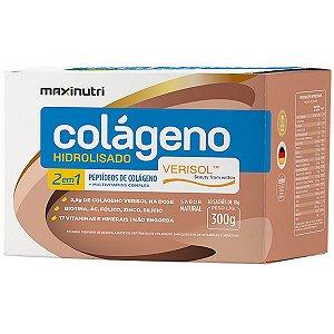 Colágeno Hidrolisado 2 em 1 Verisol - 30 sachês de 10g - Maxinutri