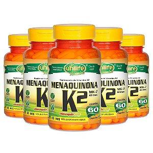 KitVitamina K2 Menaquinona Unilife 100% IDR 300 Cápsulas