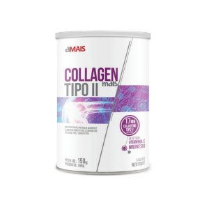 Collagen Mais Tipo II - 150 Gramas - Clinic Mais