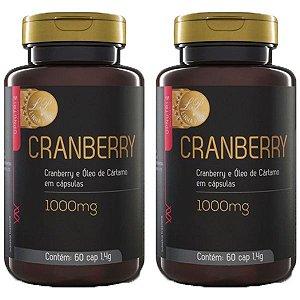 Cranberry e Óleo de Cártamo - 2 unidades de 60 Cápsulas - Upnutri Prime