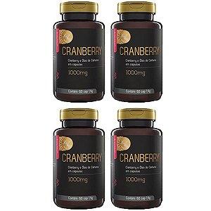 Cranberry e Óleo de Cártamo - 4 unidades de 60 Cápsulas - Upnutri Prime
