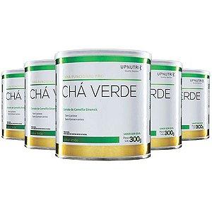 Chá Verde Solúvel Limão - 5 unidades de 300 Gramas - Upnutri Funcional