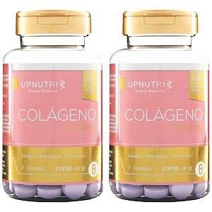 Colágeno Hidrolisado com Vitamina C - 2 unidades de 120 comprimidos - Upnutri Premium