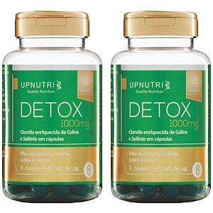 Detox - 2 unidades de 60 Cápsulas - Upnutri Premium