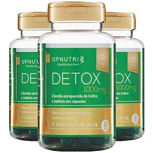 Detox - 3 unidades de 60 Cápsulas - Upnutri Premium