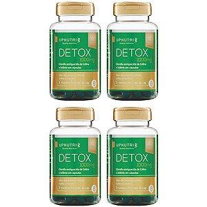 Detox - 4 unidades de 60 Cápsulas - Upnutri Premium