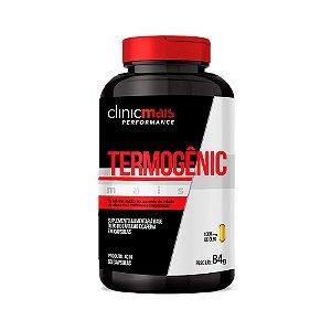 Termogênic Cafeína e Cártamo - 60 Cápsulas - Clinic Mais