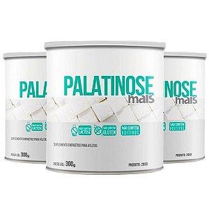 Palatinose Mais - 3 unidades de 300 Gramas - Clinic Mais