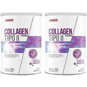 Collagen Mais Tipo II - 2 unidades de 150 Gramas - Clinic Mais