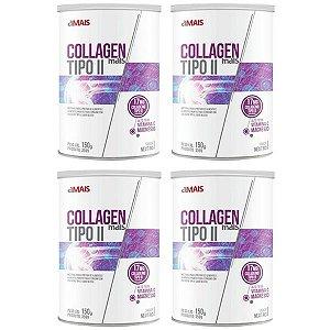 Collagen Mais Tipo II - 4 unidades de 150 Gramas - Clinic Mais