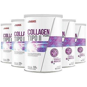 Collagen Mais Tipo II - 5 unidades de 150 Gramas - Clinic Mais