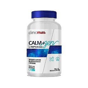 Calm+Zen L-Triptofano - 60 Cápsulas - Clinic Mais