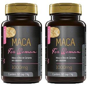 Maca For Woman - 2 unidades de 60 Cápsulas - Upnutri Prime