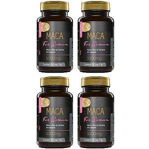 Maca For Woman - 4 unidades de 60 Cápsulas - Upnutri Prime