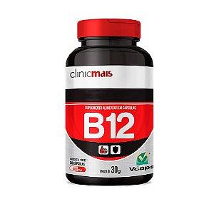 Vitamina B12 - 60 Cápsulas - Clinic Mais