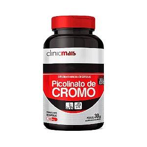 Picolinato de Cromo - 60 Cápsulas - Clinic Mais
