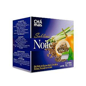 Chá Sublime Noite - 10 envelopes - Chá Mais