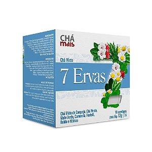 Chá Misto de 7 Ervas - 10 Envelopes - Chá Mais
