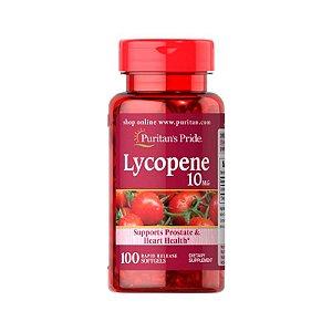 Lycopene 10mg - 100 Cápsulas - Puritan's Pride