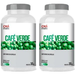 Café Verde - 2 unidades 60 Cápsulas - Clinic Mais