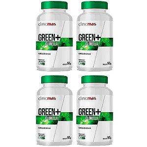 Green+ Clorella - 4 unidades de 100 Cápsulas - Clinic Mais