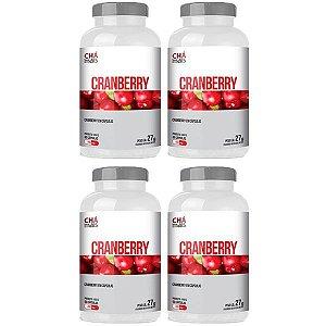 Cranberry - 4 unidades de 60 Cápsulas - Clinic Mais