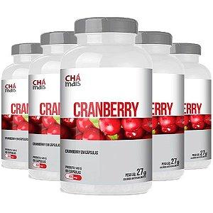 Cranberry - 5 unidades de 60 Cápsulas - Clinic Mais