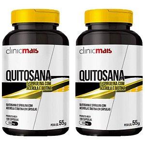 Quitosana - 2 unidades de 100 Cápsulas - Clinic Mais