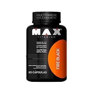 Ultimate Fire Black - 60 Cápsulas - Max Titanium