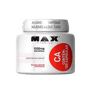 CA Óleo de Cártamo - 120 Cápsulas - Max Titanium